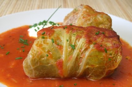 vegetarian cabbage rolls | In Good Heart Farm